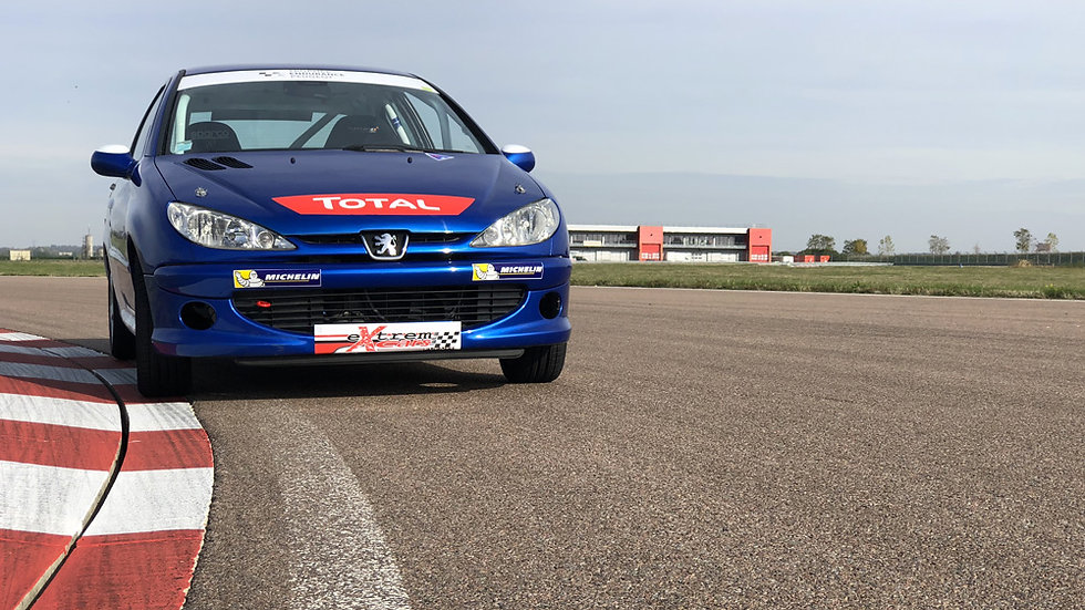 Stage Pilotage Peugeot 206 RPS - Circuit des Ecuyers