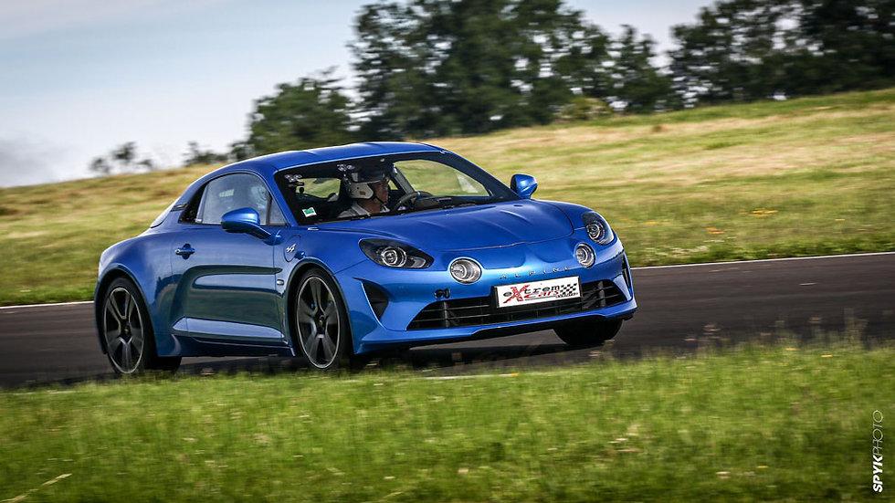 Coaching Pilotage Alpine A110 - Circuit de Dijon Prenois - Extrem Cars