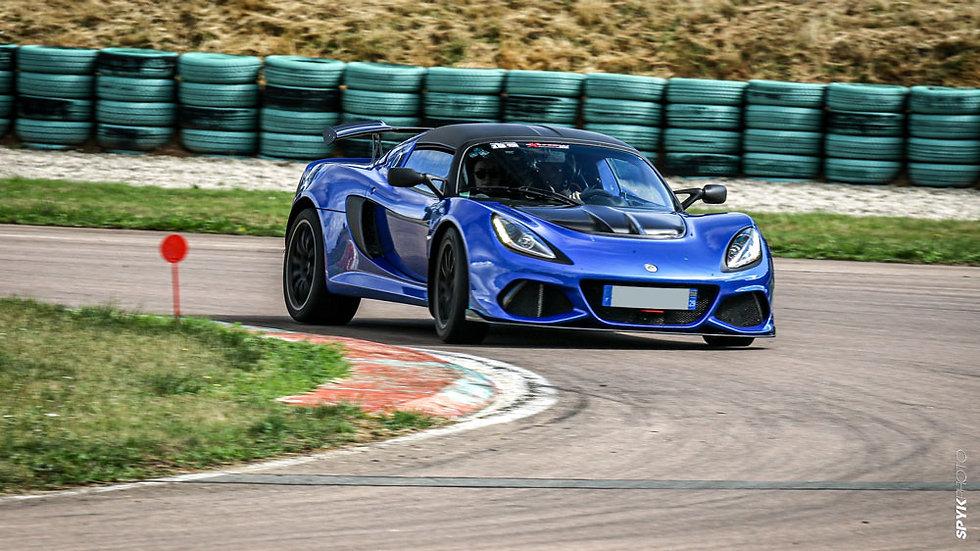 Conduire une Lotus Exige V6 410 sur circuit - Circuit de Clastres
