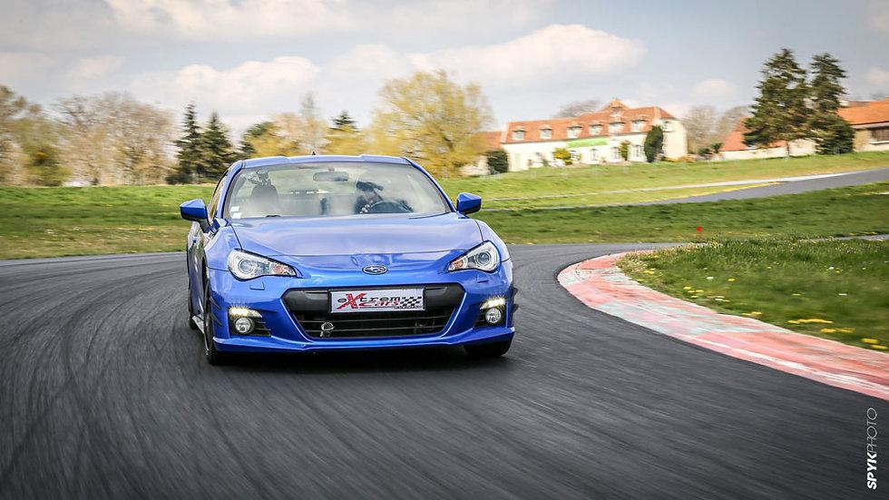 Stage Pilotage Coaching Subaru BRZ - Circuit de Dijon Prenois - Extrem Cars