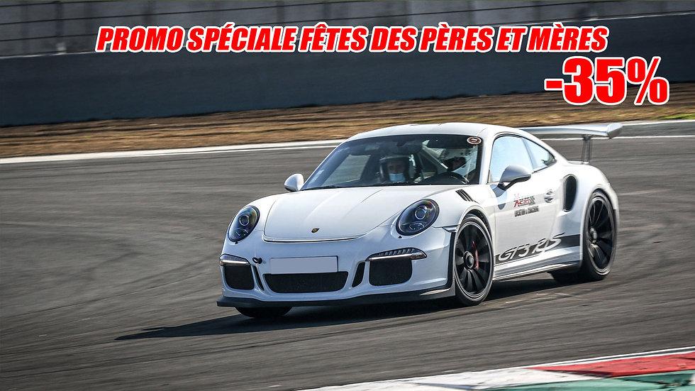 Stage de Pilotage Porsche 991 GT3 RS - Circuit de Clastres ou Ecuyers