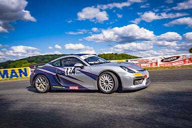 Porsche Cayman GT4 Clubsport - Course de côte Pondron Hauts-de-France