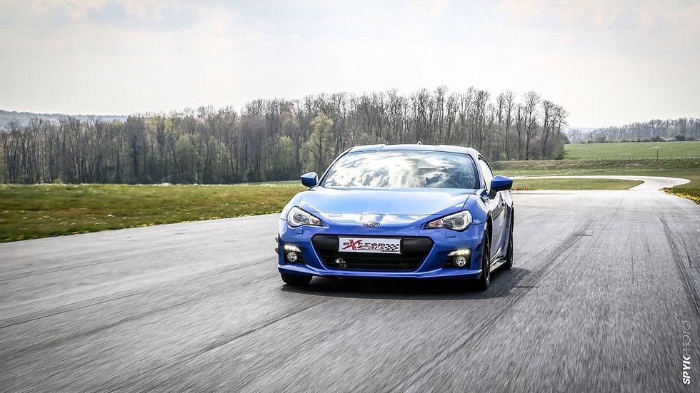 Coaching Pilotage Subaru BRZ - Circuit de Clastres - Extrem Cars