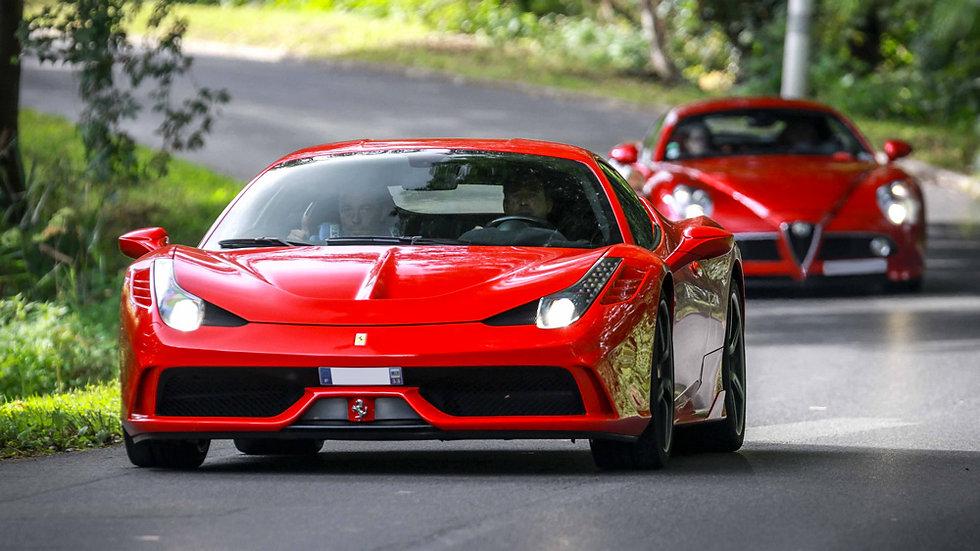 Conduire une Ferrari 458 Spéciale - Extrem Cars