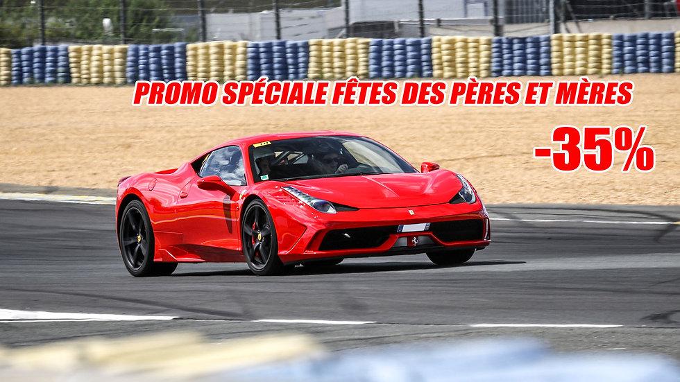 Stage de Pilotage Ferrari 458 Spéciale - Circuit de Clastres ou Ecuyers