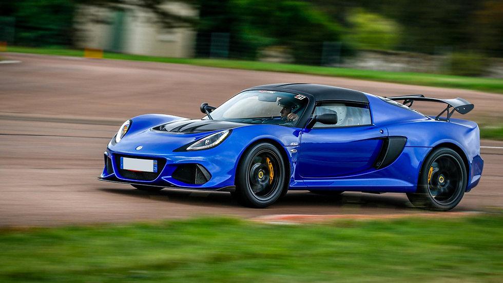 Stage Pilotage Coaching Lotus Exige V6 410 Sport - Circuit de Dijon Prenois - Extrem Cars