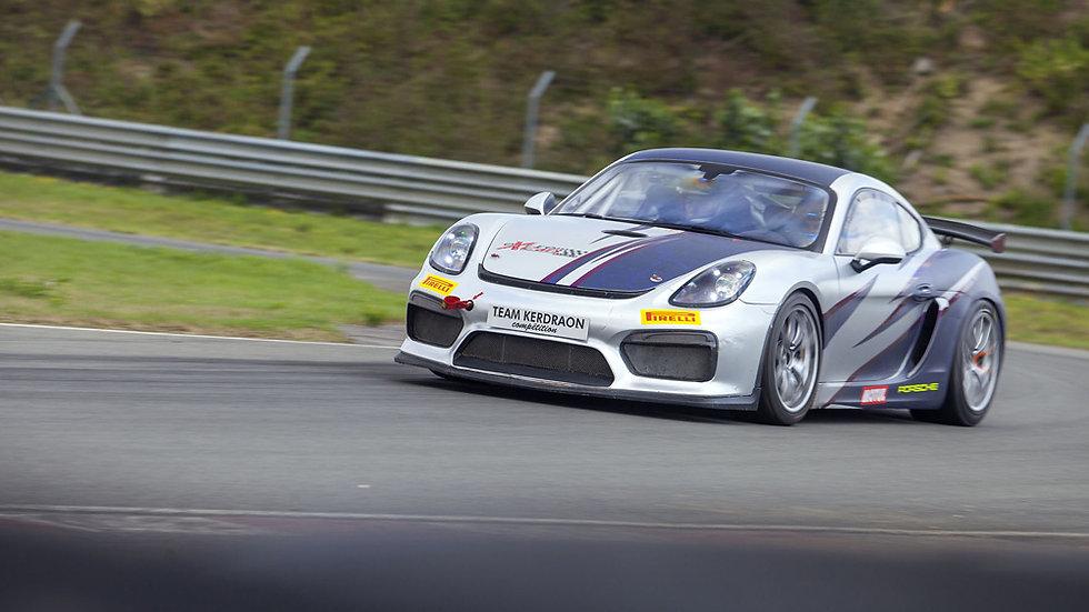 Stage Pilotage Coaching Porsche Cayman GT4 Clubsport - Circuit de la Ferté-Gaucher - Extrem Cars