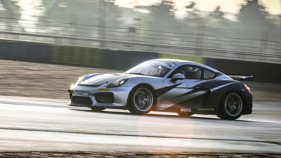 Stage Pilotage Coaching Porsche Cayman GT4 Clubsport - Circuit de Dijon Prenois - Extrem Cars