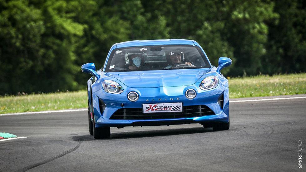 Location Alpine A110 sur circuit - Circuit de Magny-Cours - Extrem Cars