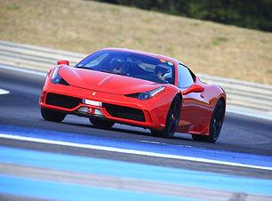 Stage de Pilotage Ferrari 458 Spéciale