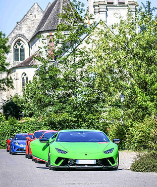 Road Trip en Supercar - Conduire une Supercar