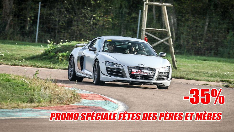Stage de Pilotage Audi R8 V10 GT - Circuit de Clastres ou Ecuyers (02)