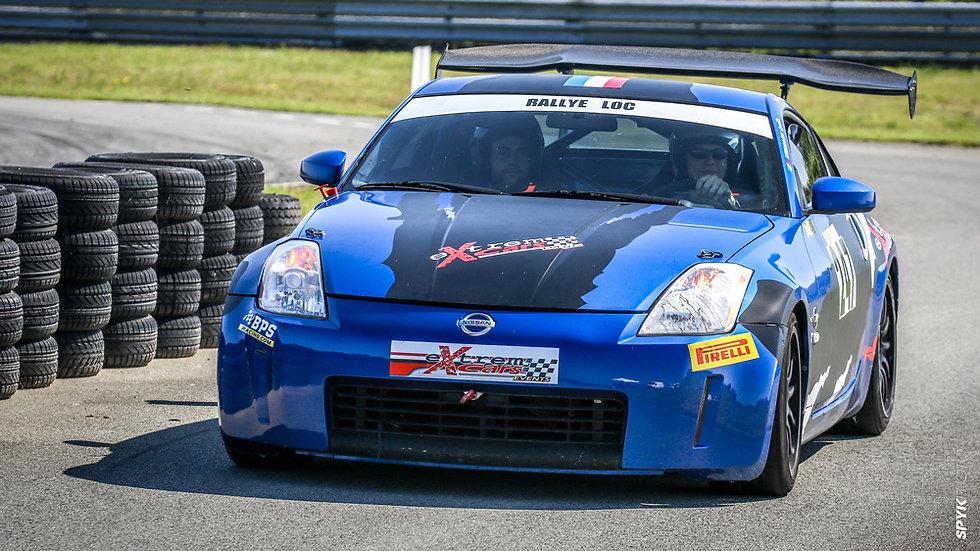 Stage Pilotage Coaching Nissan 350Z - Circuit de la Ferté-Gaucher - Extrem Cars