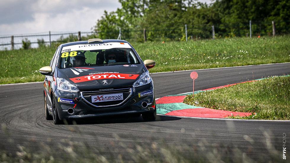 Stage Pilotage Coaching Peugeot 208 RPS - Circuit de Clastres - Extrem Cars