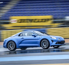 Alpine A110 - Coaching pilotage