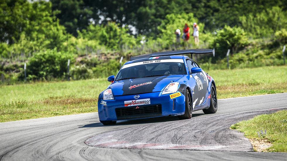 Stage Coaching Pilotage Nissan 350Z - Circuit de Clastres - Extrem Cars