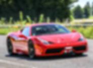Conduire une Ferrari Paris