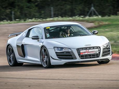 Location Audi R8 V10 sur circuit - Extrem Cars