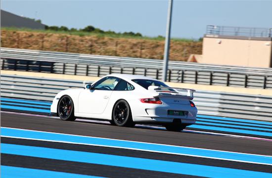 Pörsche 997 GT3 au Castellet
