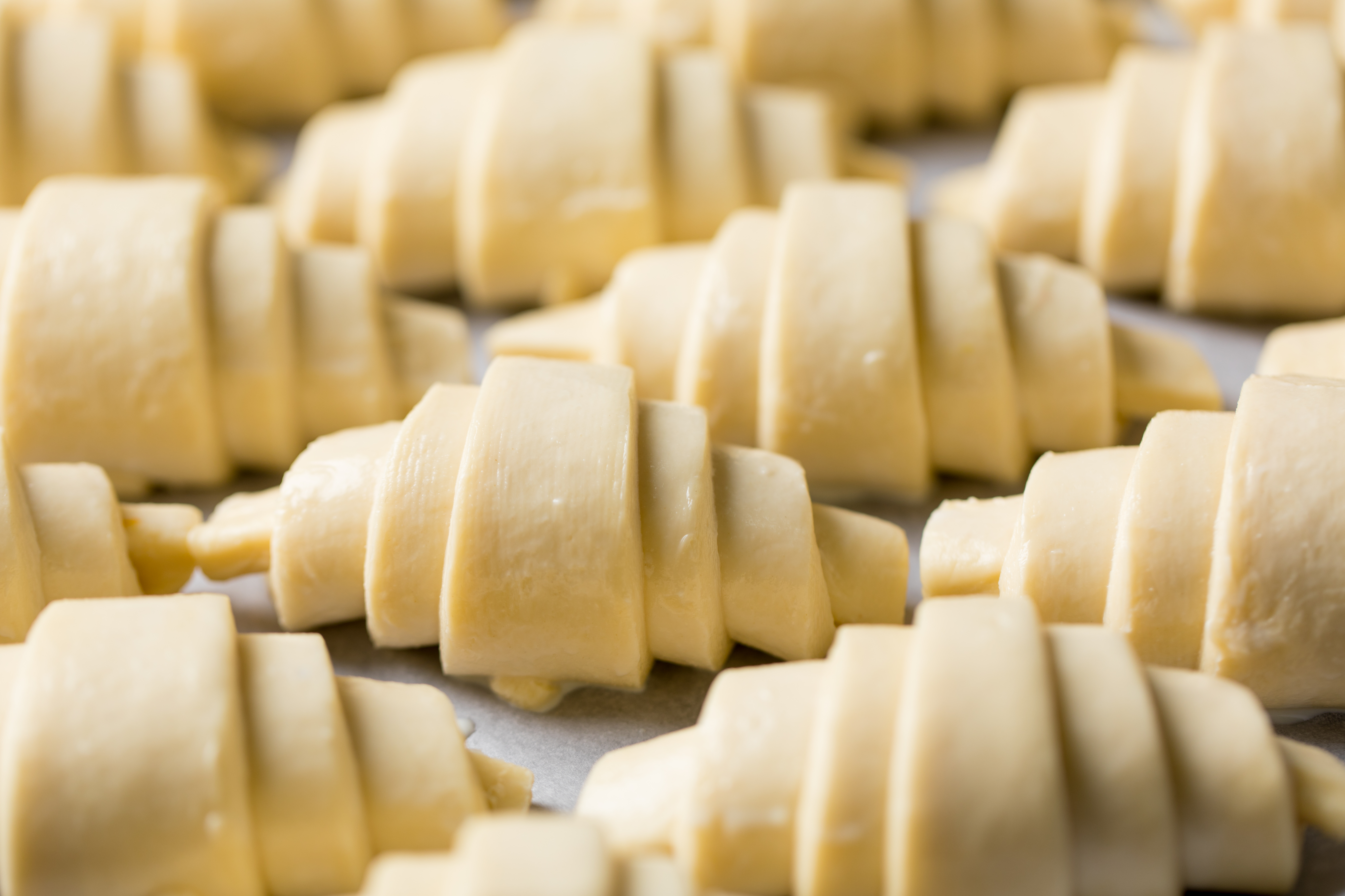 Croissants Rolled