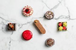 Assortment of petit desserts