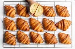 Croissant Crumb Artistic