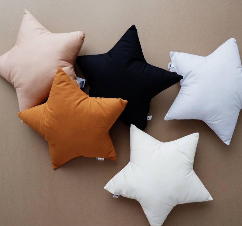 Star Nursery decor for baby girl, Star decorative pillows, Star pillow, Moon pillow, kids pillow, nursery decor for baby boy, Kidsroom decor, The Butter Flying