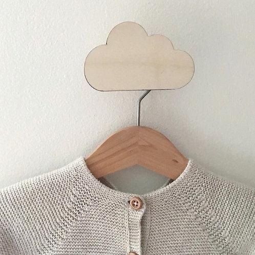 Cloud wall hook
