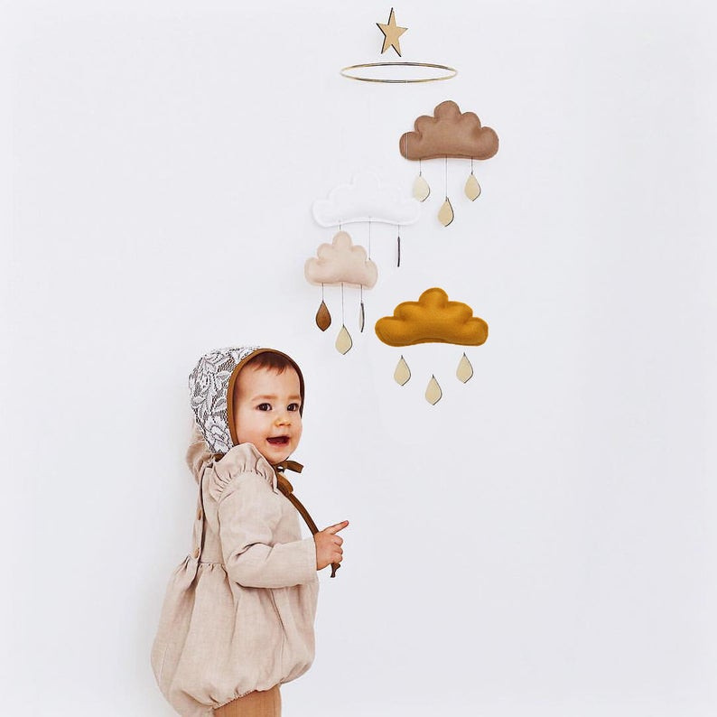 The Butter Flying - Baby mobile Eden