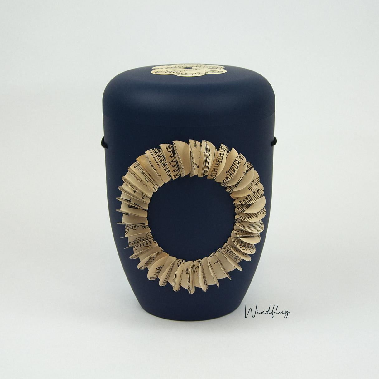 Melodie Ringform Blau