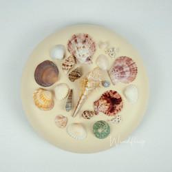 "Urnen-Variante ""Das Meer"" Beige"
