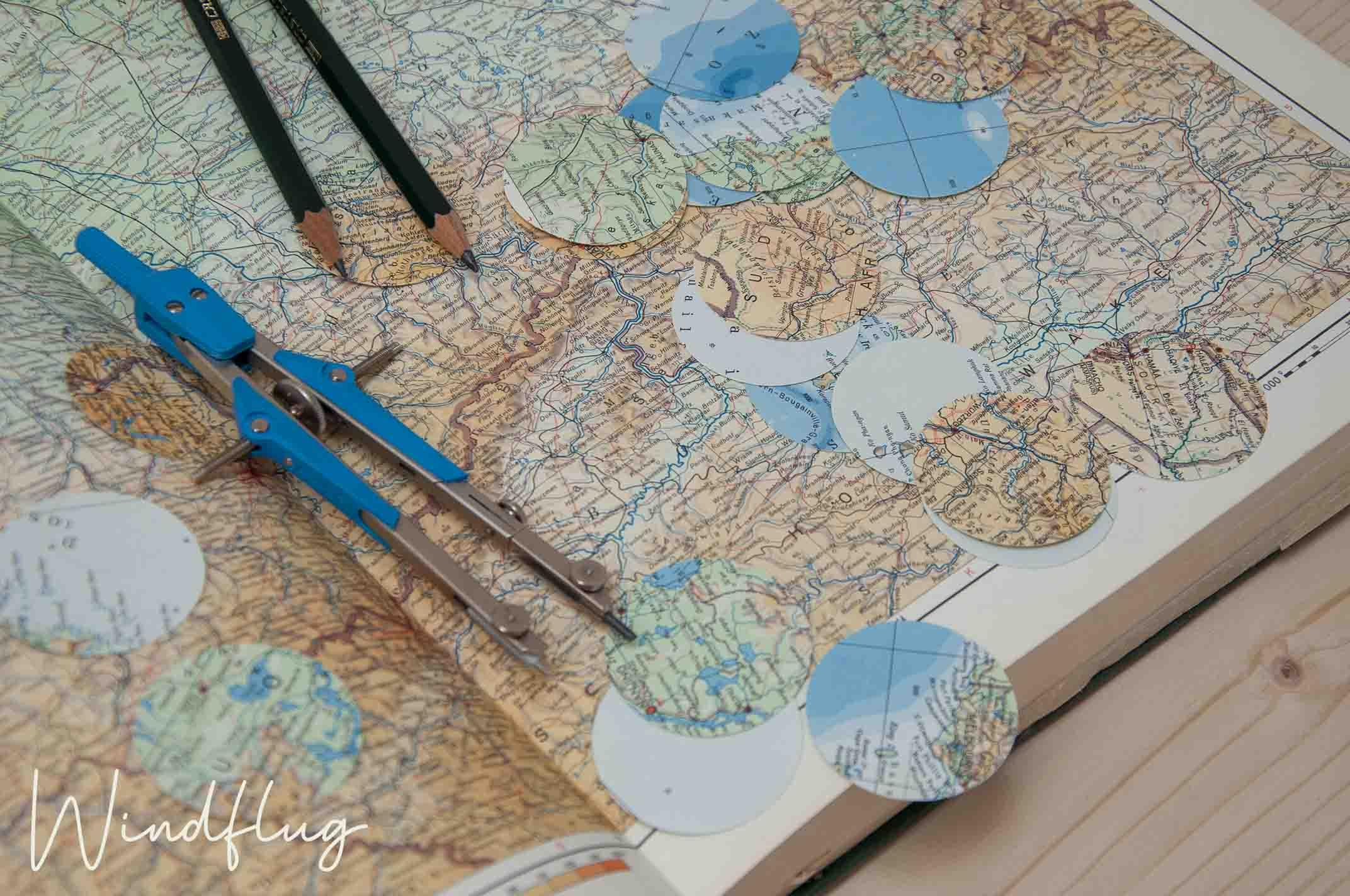 Weltenbummler Atlas