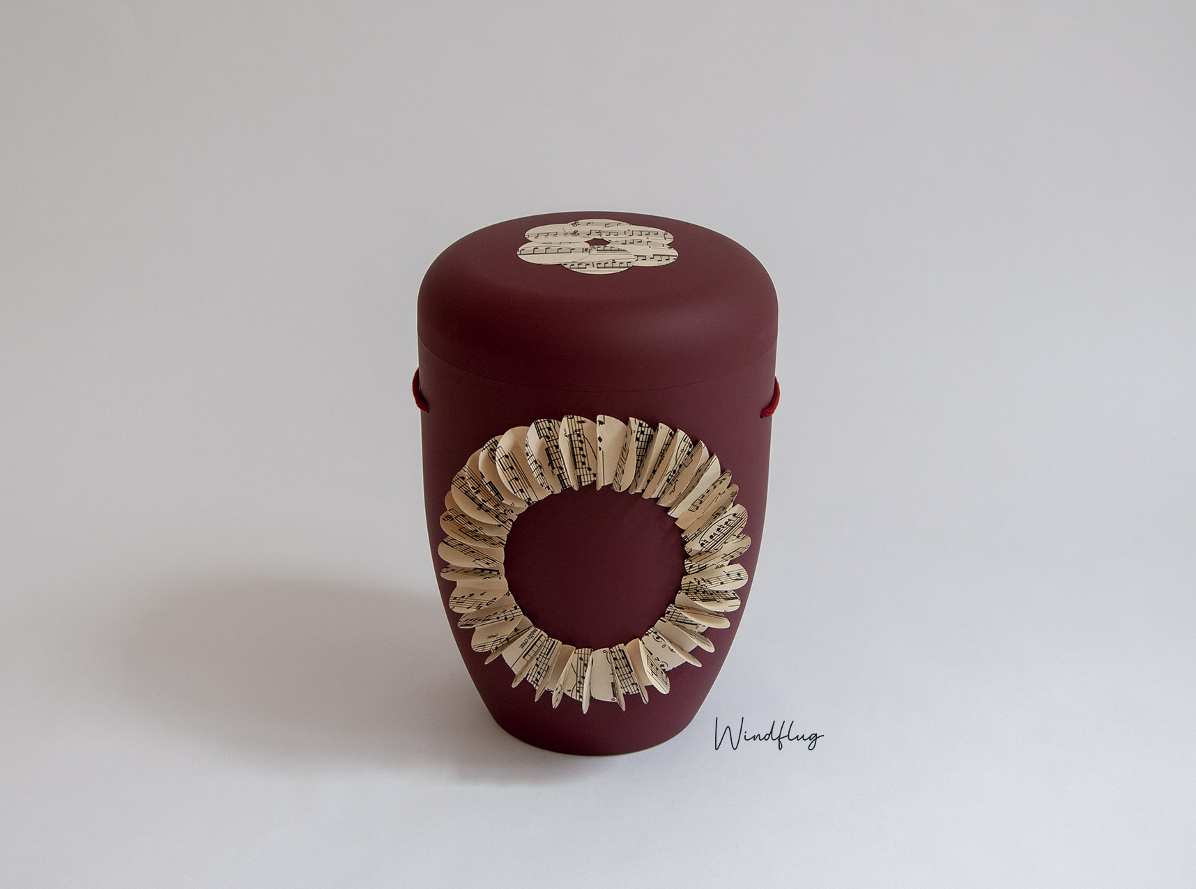 Melodie Ringform Bordeaux