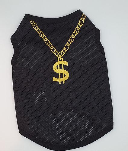 Mesh Dollar Sign T-shirt