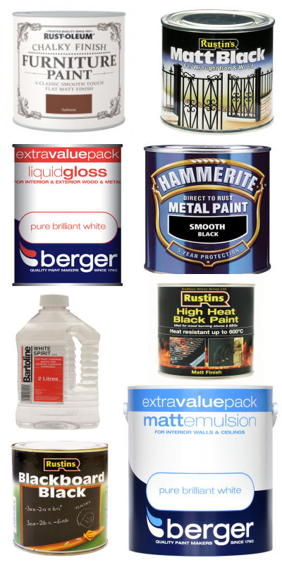Cornmeter DIY`s large range of paints & sundries