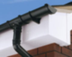 Guttering and rainwater products in stock at Cornmeter DIY