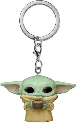 THE CHILD WITH CUP - THE MANDALORIAN - STAR WARS - FUNKO KEYCHAIN 53042
