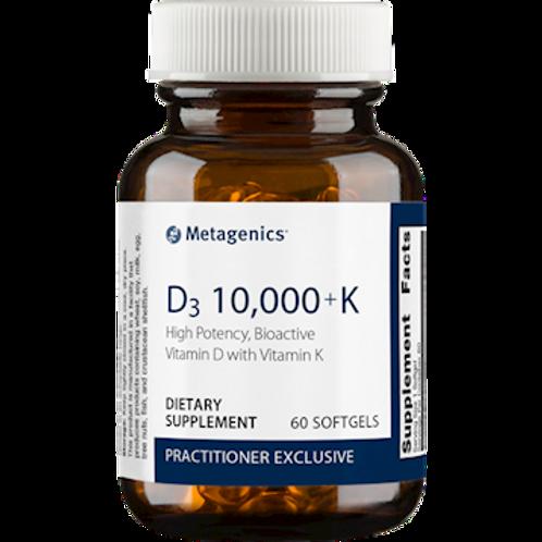 D3 10,000 + K 60 gels
