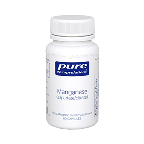 Manganese (aspartate/citrate) 60 vcaps