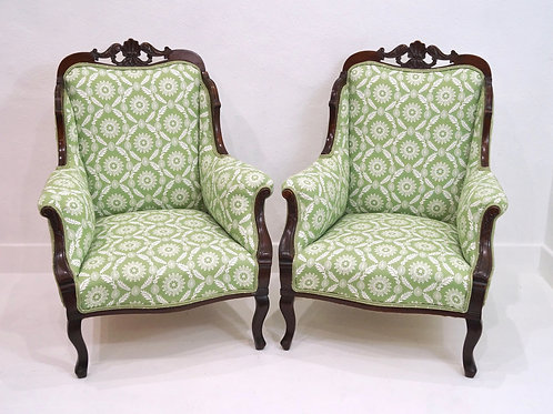 A Pair of Antique English Armchairs