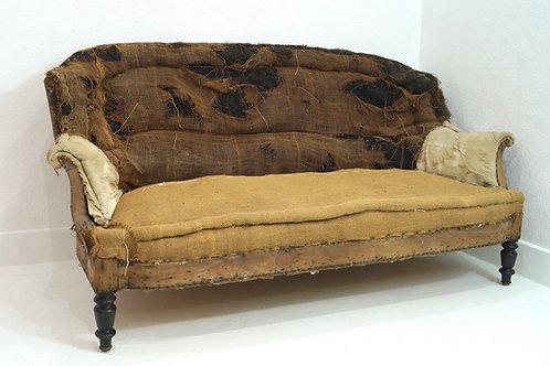A Fabulous 19th Century French Napoleon III Two / Three Seater Sofa