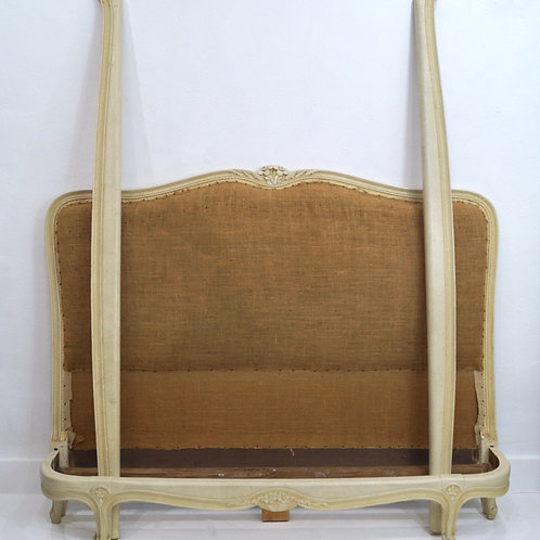 A Rare French Antique Kingsize Bed Frame