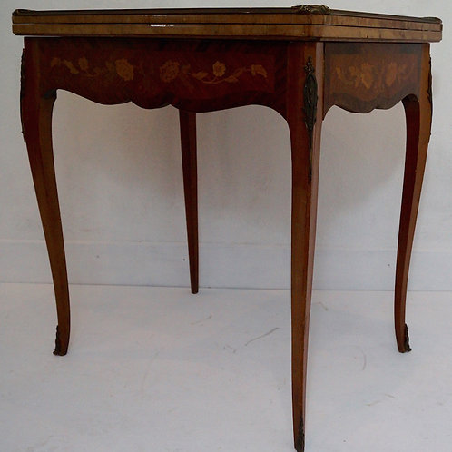 Antique French Louis XV Games / Side Table