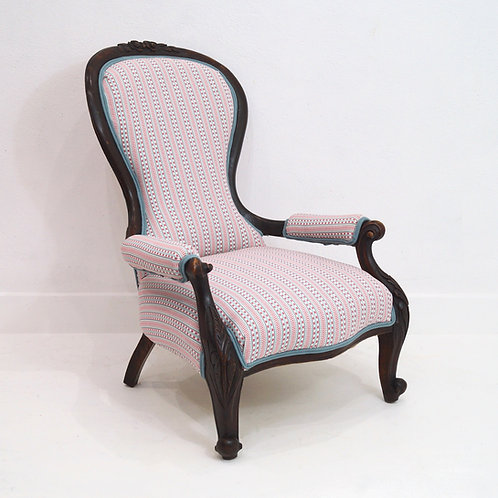 An Antique English Armchair