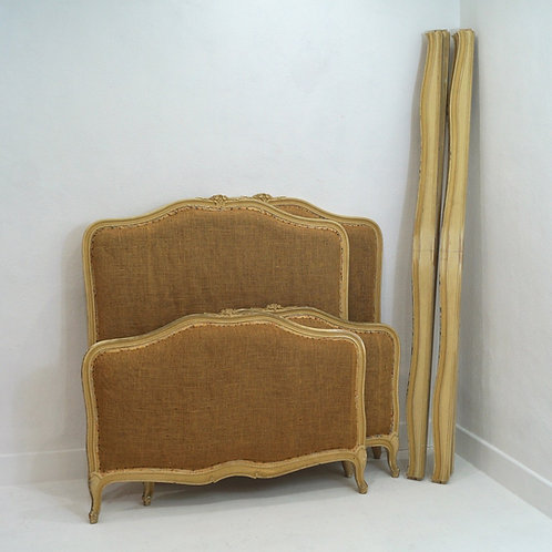 A Pair of Antique French Large Single Beds