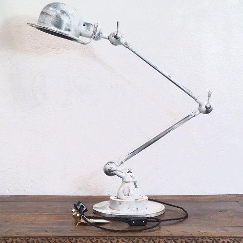 A Jielde Style French Industrial Desk Lamp