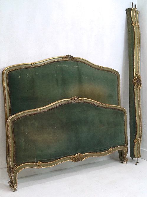 An Antique French Louis XV 5ft Kingsize Bed Frame