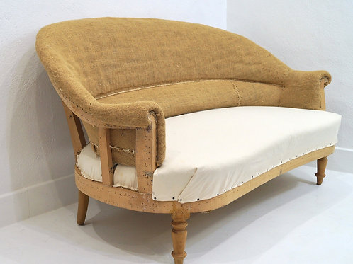 A mid 20th Century French Louis Philippe Corbeille Two Seater Sofa