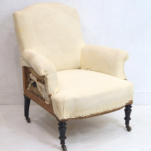 A Superb 19th Century French Napoleon III Armchair