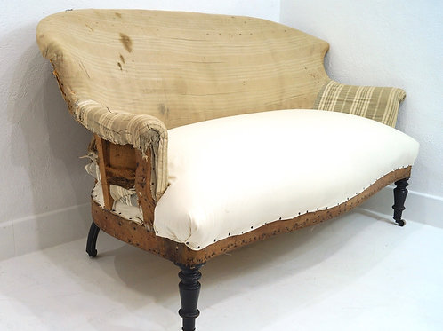 A 19th Century French Napoleon III Two Seater Sofa